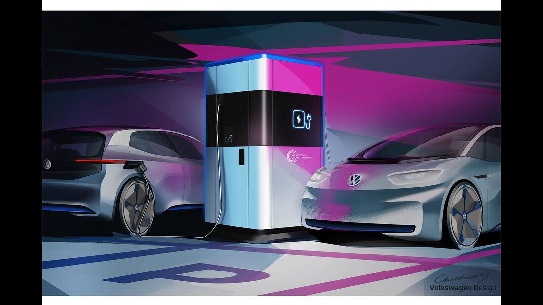 VW mobile Ladesäule