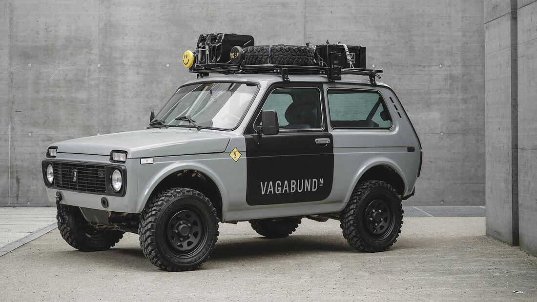 Vagabund Lada Niva Offroad-Umbau