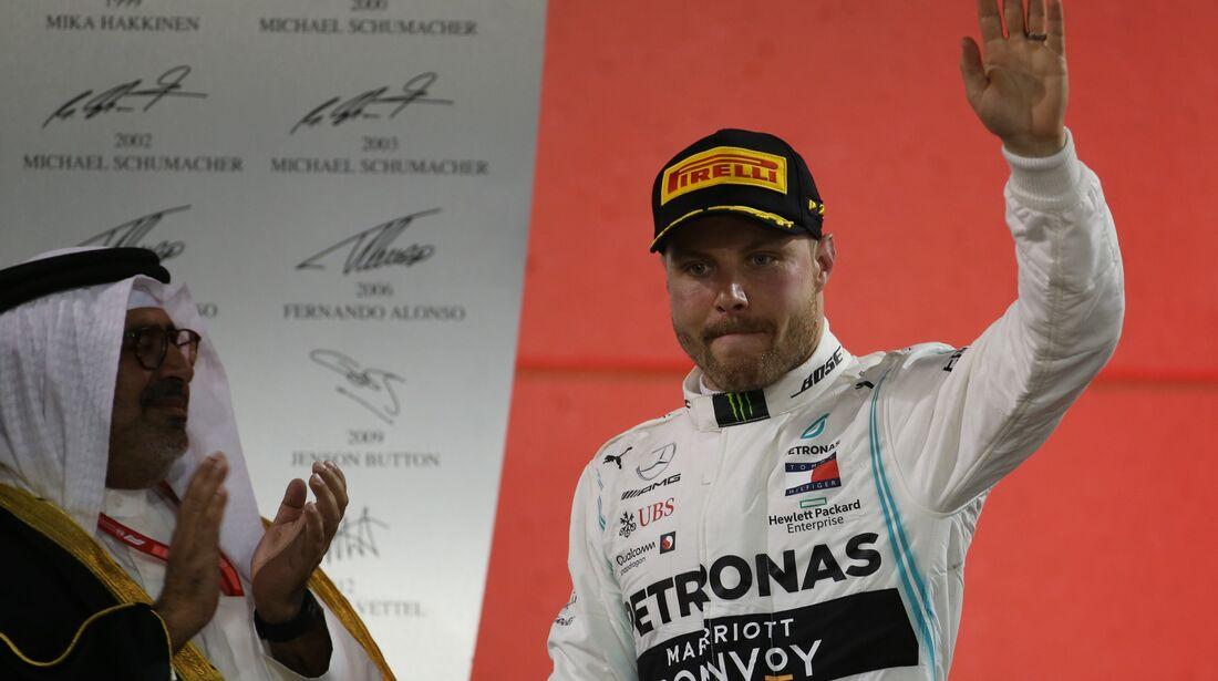 Vallteri Bottas - Mercedes - Formel 1 - GP Bahrain - 31. März 2019