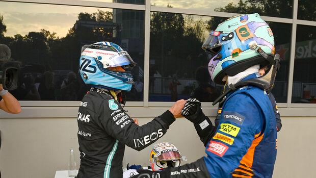 Valteri Bottas & Daniel Ricciardo - Formel 1 - GP Italien - Monza - 10. September 2021