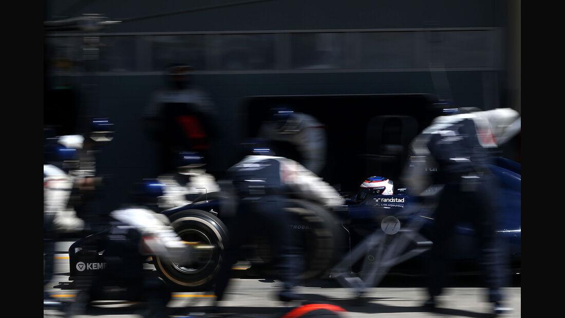 Valterri Bottas - Williams - Formel 1 - Bahrain - Test - 21. Februar 2014