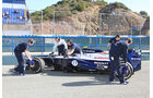 Valterri Bottas, Williams, Formel 1-Test, Jerez, 7.2.2013