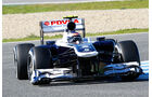Valterri Bottas, Williams, Formel 1-Test, Jerez, 8. Februar 2013