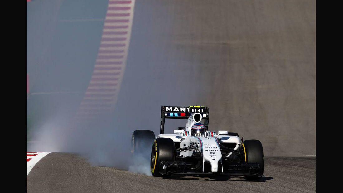 Valtteri Botas - Formel 1 - GP USA - 1. November 2014