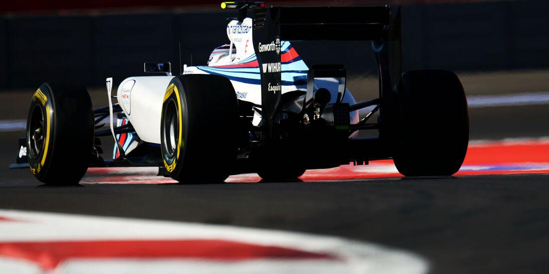 Valtteri Botas - Williams - Formel 1 - GP Russland - Sochi - 10. Oktober 2014
