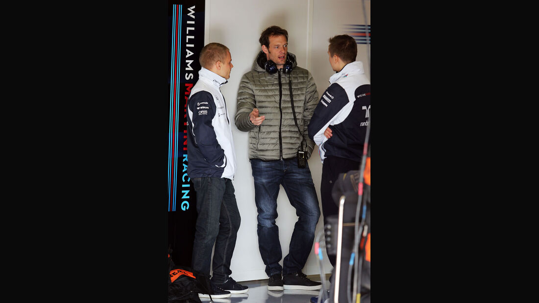 Valtteri Bottas - Alexander Wurz - Williams - Formel 1-Test - Barcelona - 20. Februar 2015