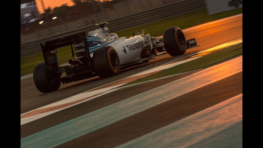 Valtteri Bottas - Danis Bilderkiste - GP Abu Dhabi 2015