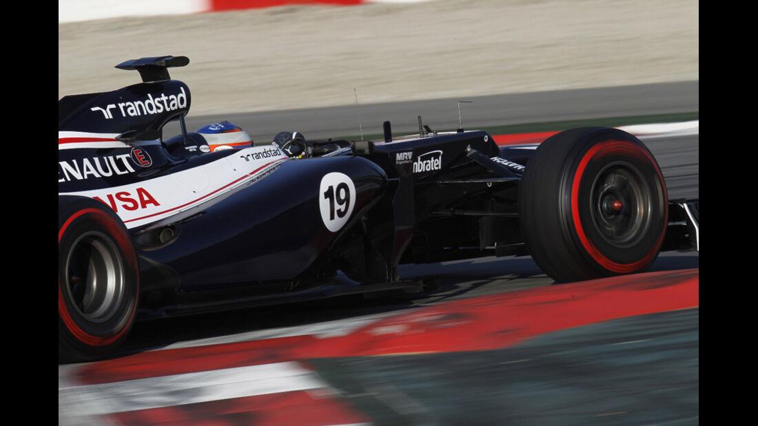 Valtteri Bottas - F1-Test - Barcelona 2012
