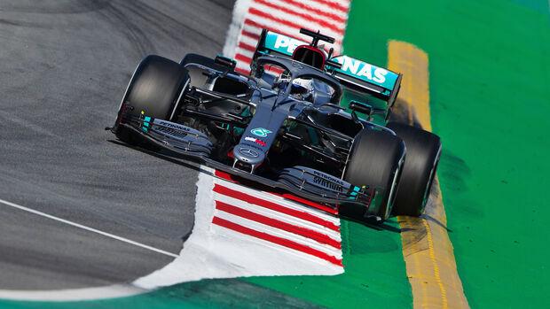 Valtteri Bottas - F1-Test Barcelona 2020