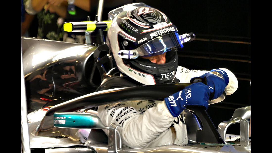 Valtteri Bottas - F1-Testfahrten - Abu Dhabi - 2017