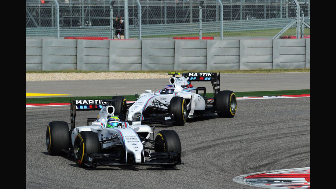 Valtteri Bottas - Felipe Massa - Formel 1 - GP USA - 2. November 2014