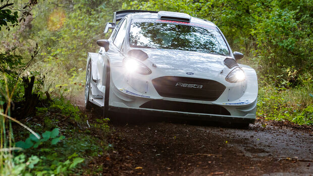 Valtteri Bottas - Ford Fiesta WRC - M-Sport - Dienstag - 13.8.2019