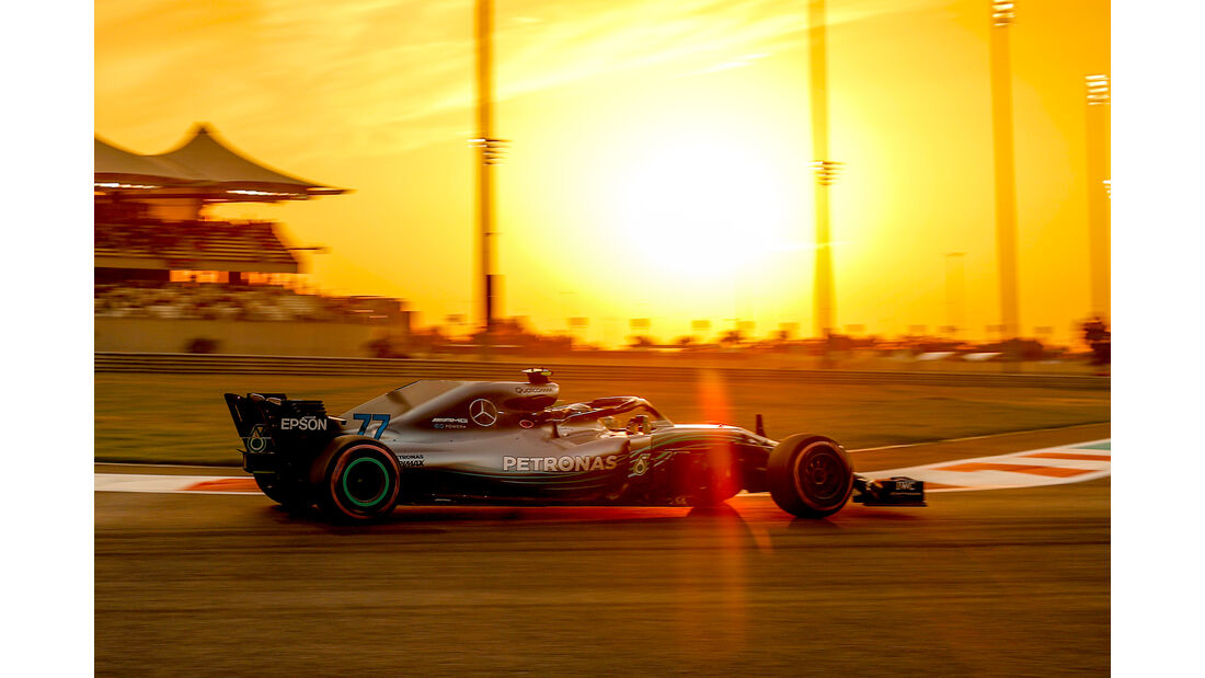 Valtteri Bottas - Formel 1 - GP Abu Dhabi 2018