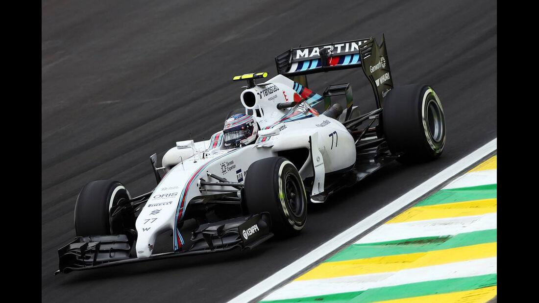 Valtteri Bottas - Formel 1 - GP Brasilien - 8. November 2014