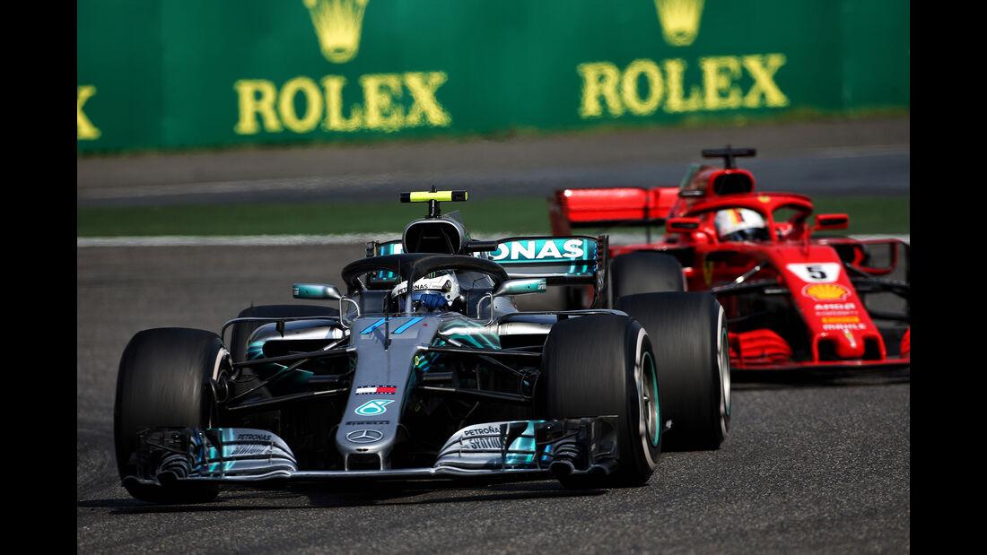 Valtteri Bottas - Formel 1 - GP China 2018