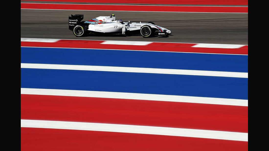 Valtteri Bottas - Formel 1 - GP USA - 1. November 2014