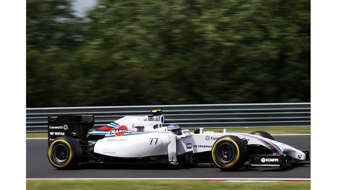Valtteri Bottas - Formel 1 - GP Ungarn - 26. Juli 2014