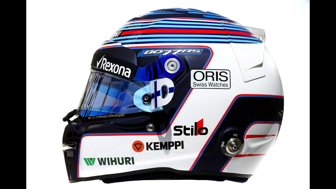 Valtteri Bottas - Formel 1 - Helm - 2016