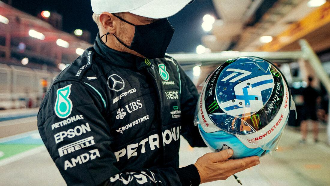 Valtteri Bottas - Formel 1 - Helm - 2021