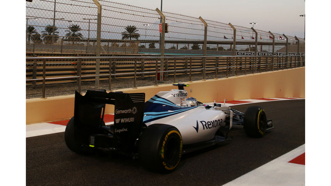 Valtteri Bottas - GP Abu Dhabi 2015