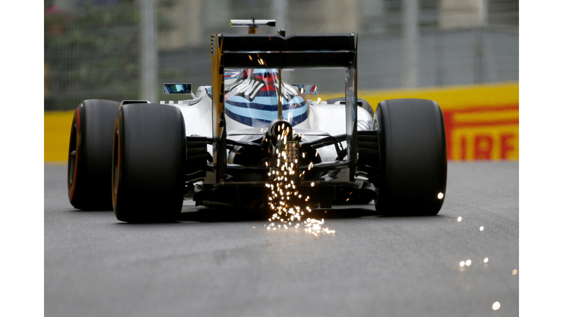 Valtteri Bottas - GP Aserbaidschan - Formel 1 - 2016