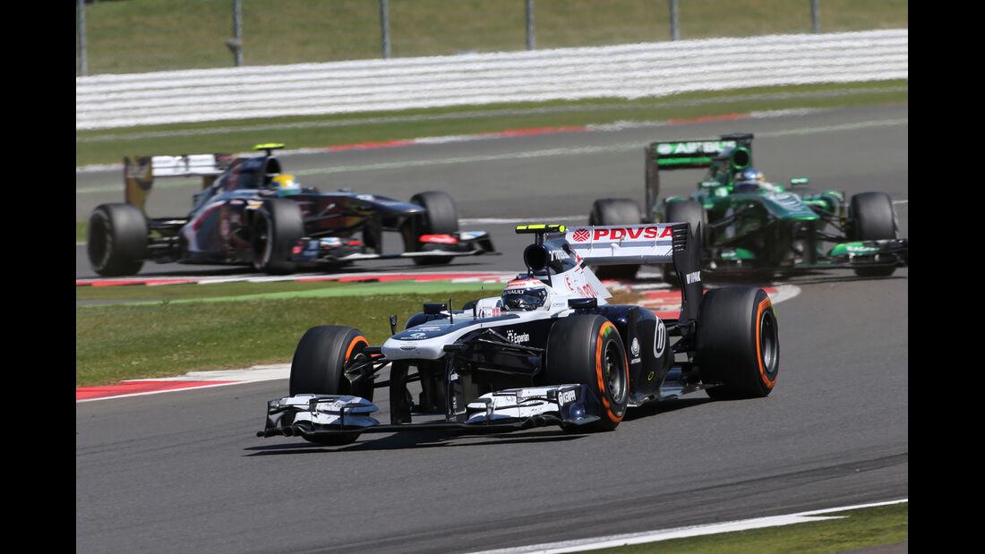 Valtteri Bottas - GP England 2013