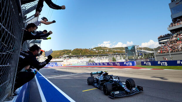 Valtteri Bottas - GP Russland - Sotschi - Formel 1 - 2020
