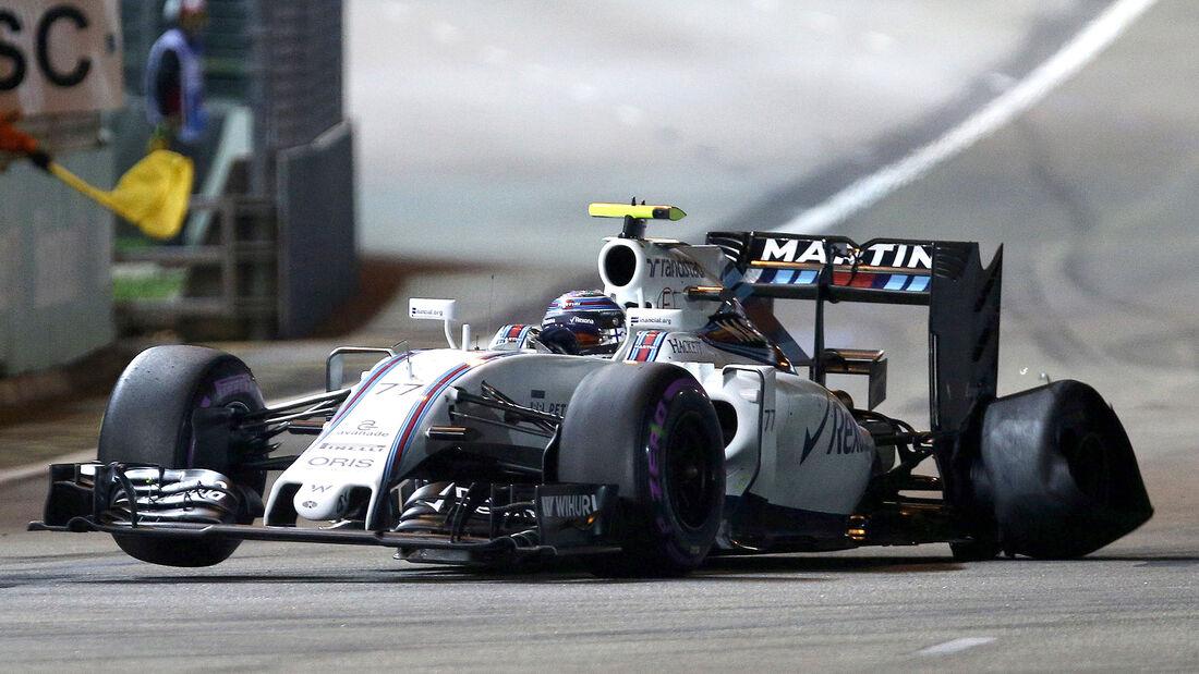Valtteri Bottas - GP Singapur 2016
