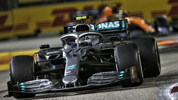 Valtteri Bottas - GP Singapur 2019