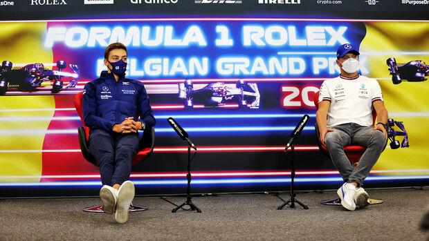 Valtteri Bottas - George Russell - Formel 1 - GP Belgien - 2022