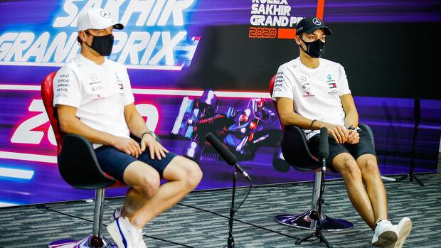 Valtteri Bottas - George Russell - Mercedes - GP Sakhir 2020 - Bahrain