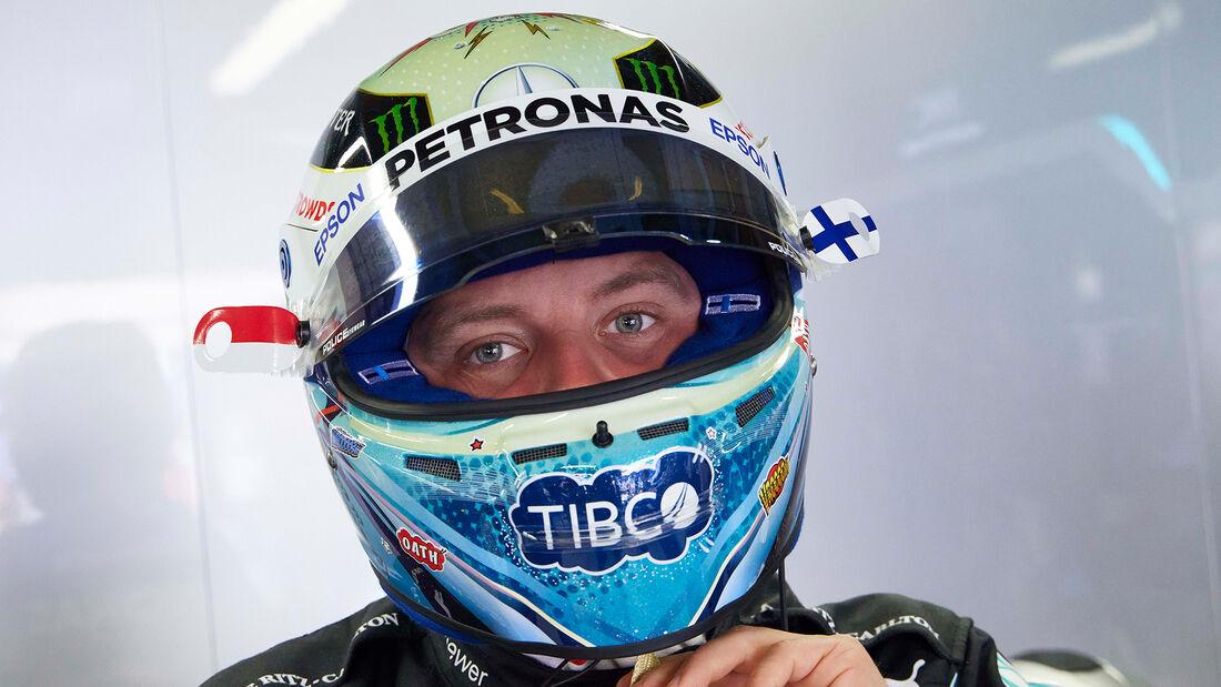 Valtteri Bottas - Helm-Design - GP Monaco 2021