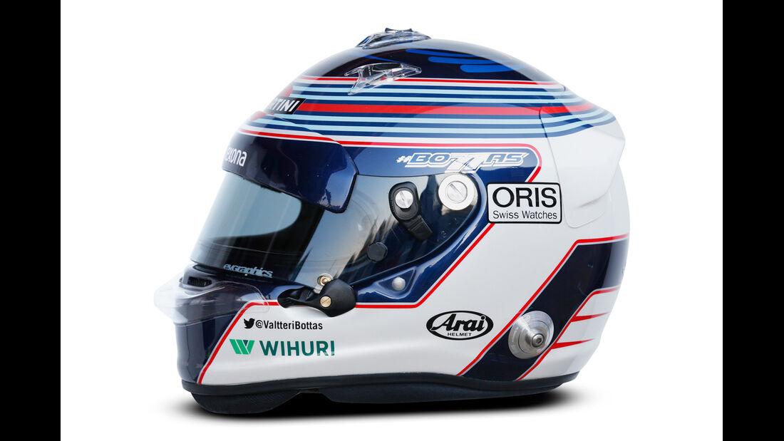 Valtteri Bottas - Helm  - Formel 1 - 2015