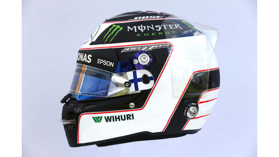 Valtteri Bottas - Helm - Formel 1 - 2017