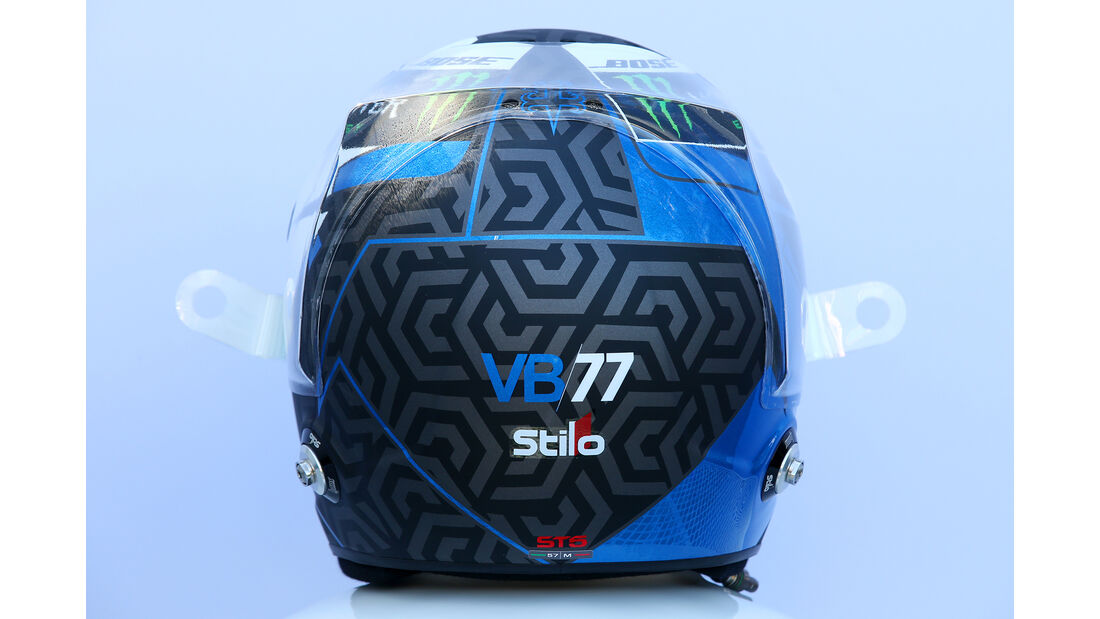 Valtteri Bottas - Helm - Formel 1 - 2018