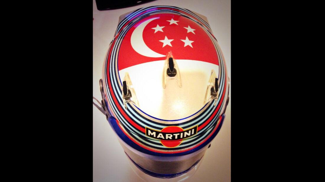 Valtteri Bottas - Helm - GP Singapur 2014
