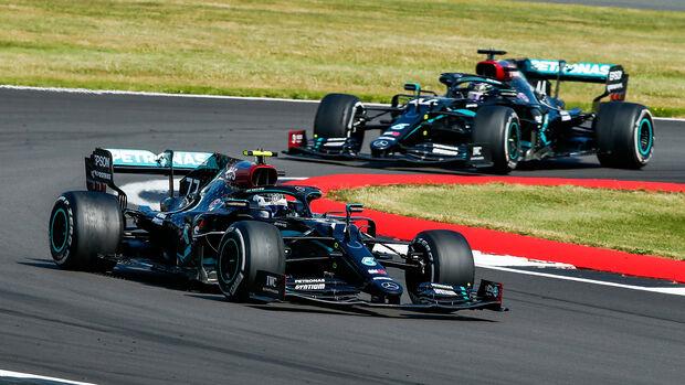 Valtteri Bottas - Lewis Hamilton - GP 70 Jahre F1 - Silverstone