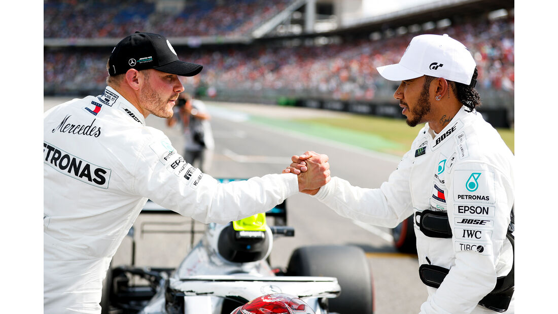 Valtteri Bottas & Lewis Hamilton - GP Deutschland 2019