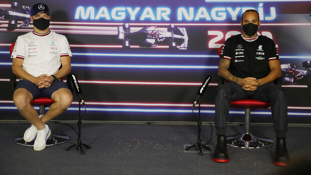 Valtteri Bottas & Lewis Hamilton - GP Ungarn 2021