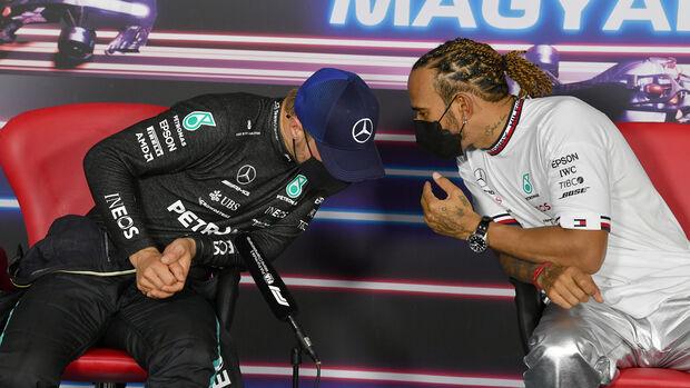 Valtteri Bottas - Lewis Hamilton - GP Ungarn 2021 - Budapest