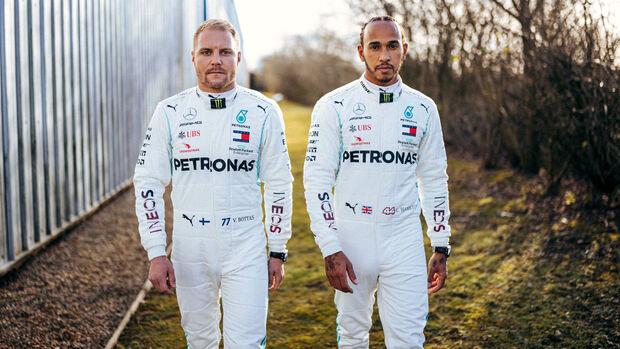 Valtteri Bottas & Lewis Hamilton - Mercedes - 2020
