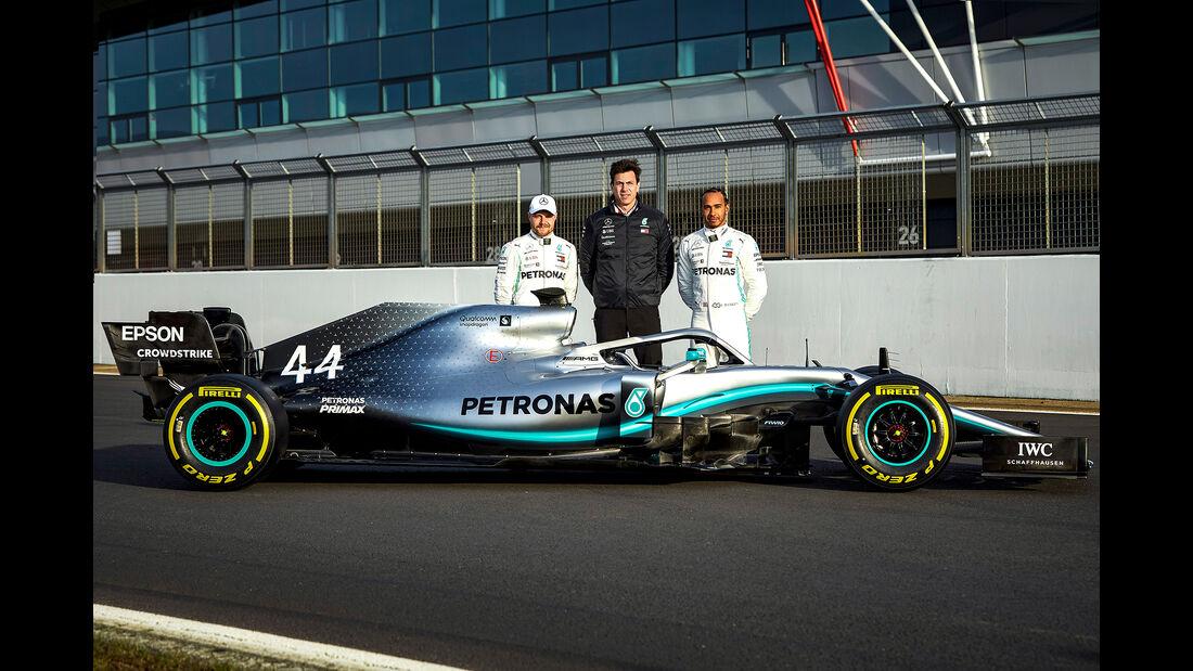 Valtteri Bottas & Lewis Hamilton - Mercedes AMG F1 W10 - F1-Auto 2019