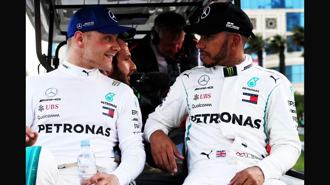 Valtteri Bottas - Lewis Hamilton - Mercedes - Formel 1 - GP Aserbaidschan - 28. April 2018