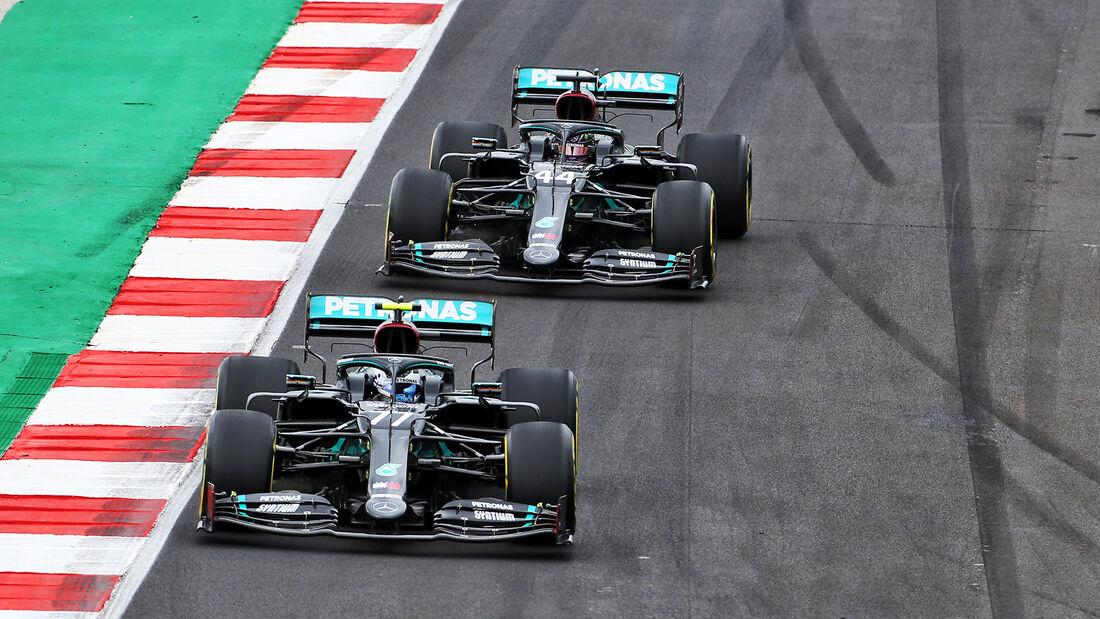 Valtteri Bottas - Lewis Hamilton - Mercedes - GP Portugal 2020 - Portimao