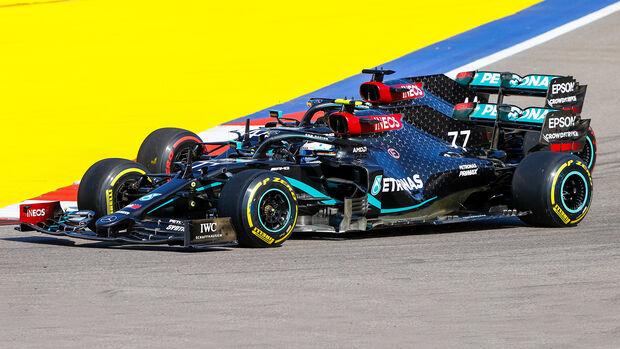 Valtteri Bottas & Lewis Hamilton - Mercedes - GP Russland 2020