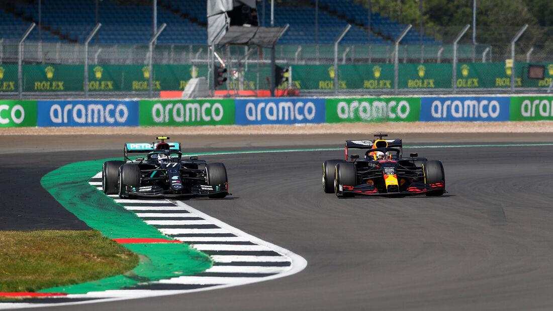 Valtteri Bottas - Max Verstappen - GP 70 Jahre F1 - Silverstone