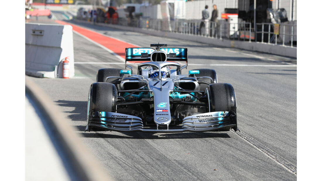 Valtteri Bottas - Mercedes - Barcelona - F1-Test - 18. Februar 2019