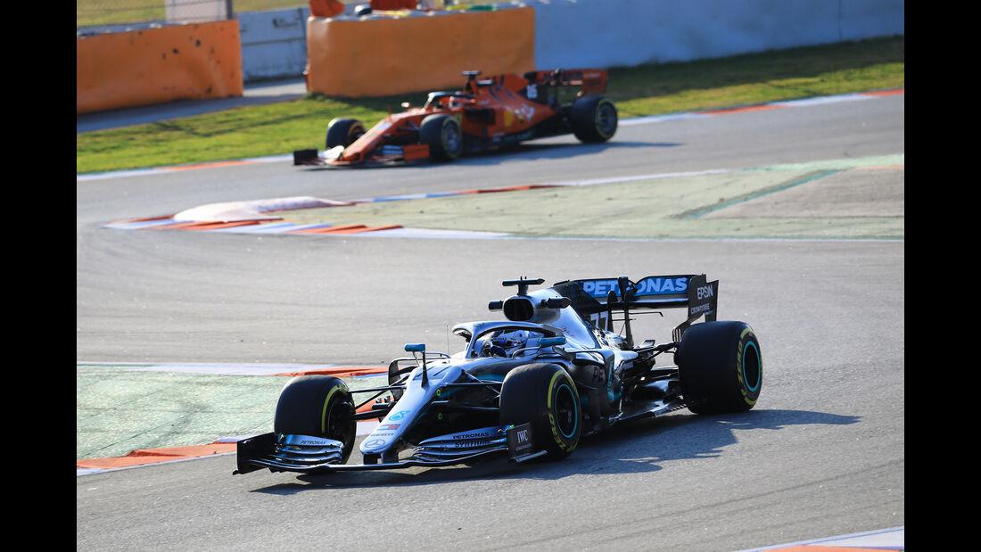 Valtteri Bottas - Mercedes - Barcelona - F1-Test - 19. Februar 2019