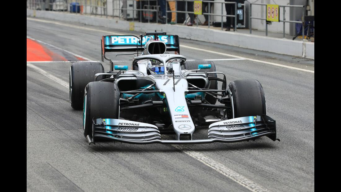 Valtteri Bottas - Mercedes - Barcelona - F1-Test - 20. Februar 2019