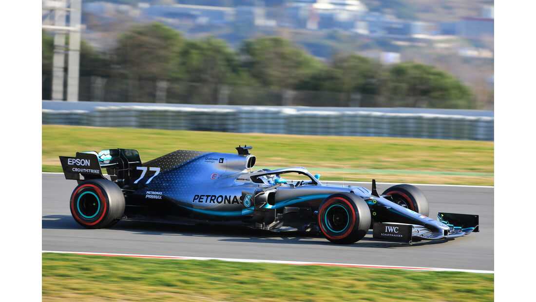 Valtteri Bottas - Mercedes - Barcelona - F1-Test - 21. Februar 2019